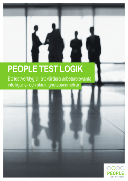 PTL - People Test Systems