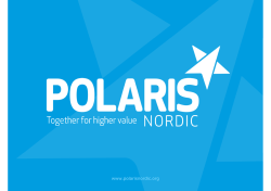 Polaris Nordic Digital Music Survey 2015