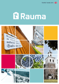 Rauma - Tourist Guide 2015 (4,9Mt)