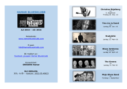 Konsert-program jul-15 - vår-16
