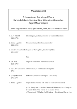 20151025 Monarkmötet program