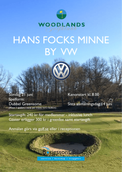 Hans Fock by VW