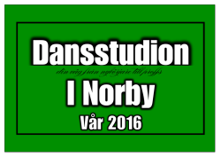 program vt 2016 - Ekeby Dansstudio